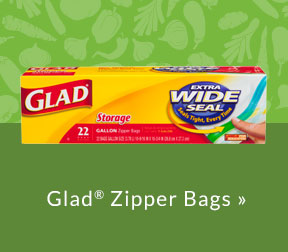 Glad Zipper Bags